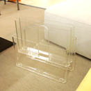 雜誌架 Magazine Rack  4676 00/crystal(Kartell)